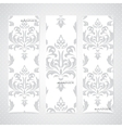 Collection vertical banners in the style of vector image vector image