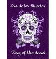 day dead a mexican festival dia de los vector image