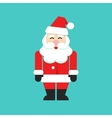 Santa claus isolated person flat cartoon vector image vector image