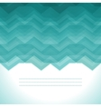 Turquoise Abstract Retro Background vector image