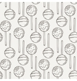 Candy and Lollipop Seamless Pattern Sweet vector image