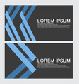 business card template design backgrounds vector image vector image