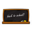chalkboard symbol icon design beautiful isolated vector image vector image