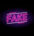 fake news and false fraud facts vector image vector image