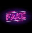 fake news and false fraud facts vector image