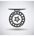 Fishing Reel Icon vector image vector image