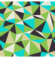 seamless triangle pattern geometric vector image vector image