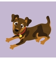 Yagdterer of a character dog vector image
