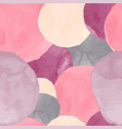 abstract seamless pattern watercolor background vector image vector image
