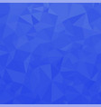 blue polygonal background triangular pattern low vector image vector image