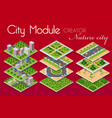 concept of urban infrastructure business vector image