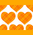 cotton heart pattern vector image