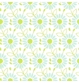 Daisy chamomile seamless pattern vector image