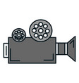 film video camera icon vector image vector image