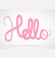 halftone text design vector image vector image