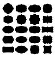 set blank retro vintage badges and labels vector image vector image