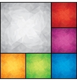 Set of Colored Backgrounds vector image