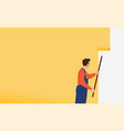 simple painting renovation or house repair themed vector image