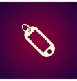 trinket icon Flat vector image vector image