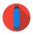 Water filter machine icon in flat style isolated vector image vector image