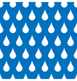 Drops seamless background vector image