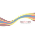 abstract background colorful website header vector image vector image