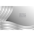 gray curve abstract background with copy space vector image
