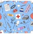 Doodle pattern Medical vector image