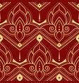 abstract line thai geometric pattern vector image