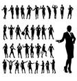 businesswoman set1 vector image vector image