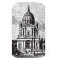 church of the val-de-grce or former royal abbey vector image vector image
