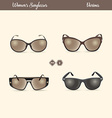 Ladies Sunglasses vector image vector image