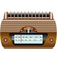 Old radio vector image