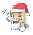 santa pork rinds in character plastic vector image vector image
