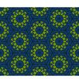 Seamless ornamental oriental pattern vector image vector image