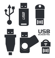 usb connection design eps10 graphic vector image vector image