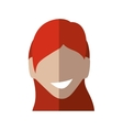 Woman head icon Avatar female design vector image vector image
