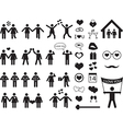 People pictogram for Valentine Day