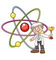 A scientist vector image vector image