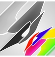 abstract high tech background vector image vector image