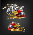 auto sport racing victory realistic concept vector image vector image