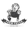 farm fresh vector image vector image