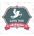 Love icons design vector image vector image