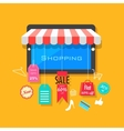 Online Shopping and Sale concept vector image vector image
