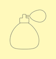 Perfume Bottle Icon vector image vector image