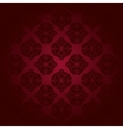 Red classic seamless pattern vector image vector image