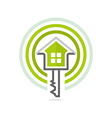 homekey alarm design icon vector image