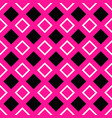 abstract seamless square pattern design vector image vector image
