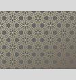 arabic girish seamless pattern background vector image