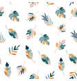bohemian summer seamless pattern with holiday vector image